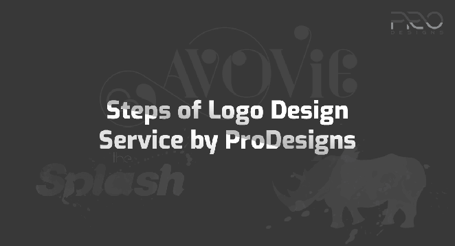 Steps of Logo Design Service by ProDesigns (Infographic)