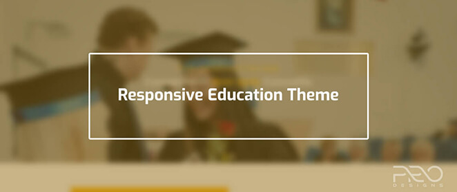 Responsive Education Theme