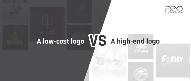 A low-cost logo VS a high-end logo: what will definitely make you a leader