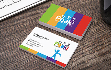 Business card design standard business card design prodesigns standard size business card colourmoves