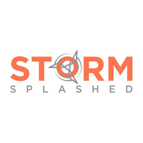 storm splashed