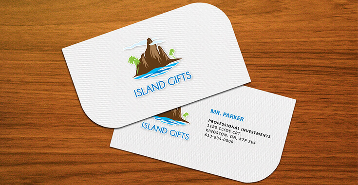 Leaf business cards design leaf shaped business cards prodesigns slider item colourmoves