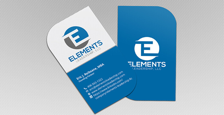 Leaf business cards design leaf shaped business cards prodesigns slider item colourmoves