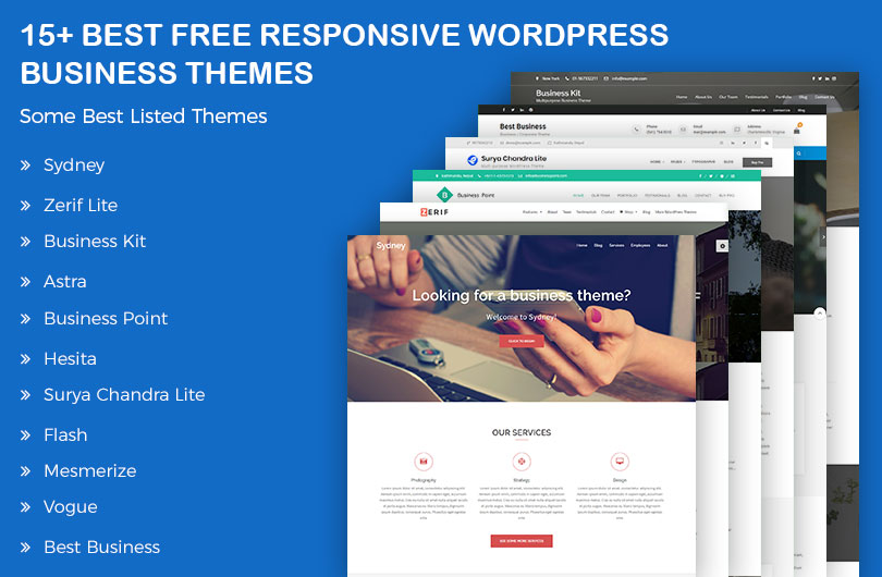 Best free responsive wordpress business themes accmission Choice Image