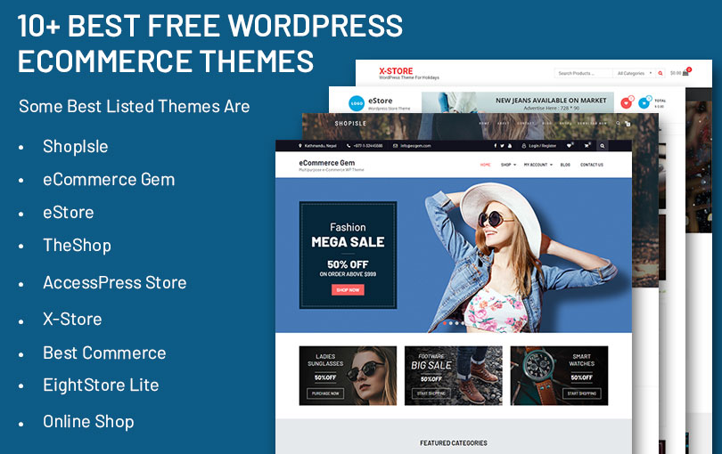 10+ Best Free WordPress eCommerce Themes - Precious Themes